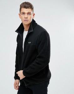 Спортивная куртка из искусственного меха Nicce London - Черный