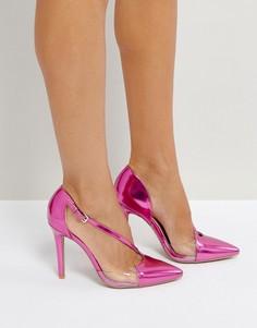Туфли на высоком каблуке Qupid - Розовый