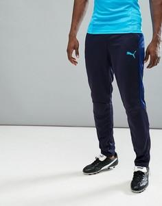 Темно-синие спортивные штаны Puma Football evoTRG 65534050 - Темно-синий