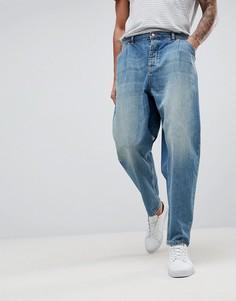 Темные oversize-джинсы ASOS - Синий