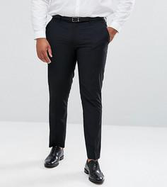 Черные брюки зауженного кроя Farah PLUS - Черный