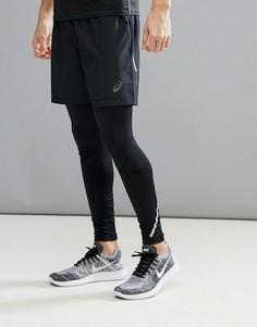 Черные шорты Asics Running 7 134093-0904 - Черный