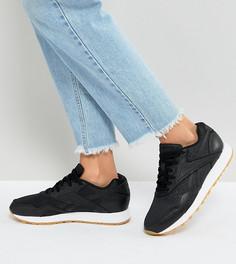 Черные кроссовки на каучуковой подошве Reebok Classic - Черный