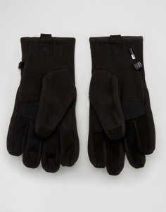 Черные флисовые перчатки для сенсорных гаджетов The North Face Denali - Черный