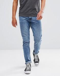Голубые джинсы прямого кроя Just Junkies - Синий