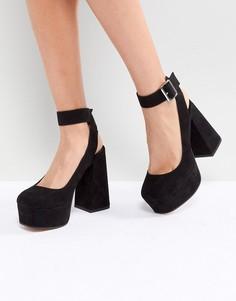 Туфли на каблуке и платформе ASOS PICASSO - Черный