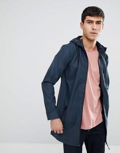 Прорезиненная куртка-дождевик Brave Soul - Темно-синий
