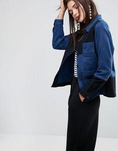 Куртка YMC - Темно-синий