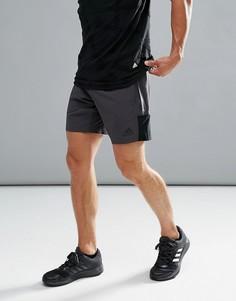 Черные шорты Adidas Training Speed BR BR3742 - Черный