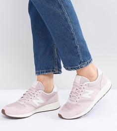 Светло-розовые кроссовки New Balance 420 - Розовый