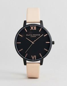 Часы с кожаным ремешком Olivia Burton OB16AD25 - Розовый