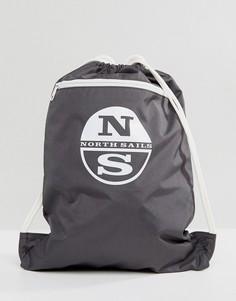 Серый спортивный рюкзак North Sails - Серый