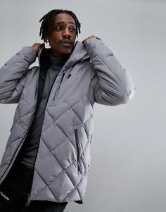 Серая меланжевая куртка Peak Performance Alaska - Серый