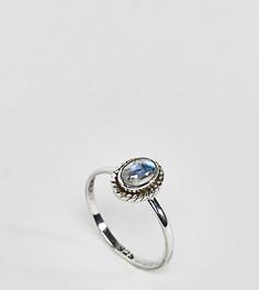 Серебряное кольцо с лунным камнем Reclaimed Vintage - Серебряный