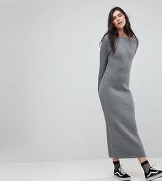Платье-джемпер макси Glamorous Tall - Серый