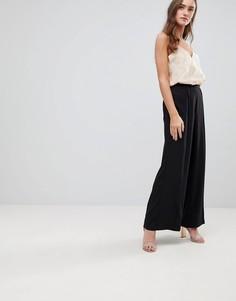 Широкие брюки Finders Keepers Carry On - Черный