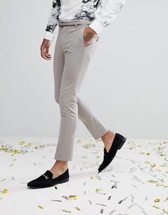 Супероблегающие брюки в стиле смокинга Noose & Monkey - Зеленый