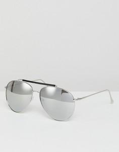 Квадратные солнцезащитные очки AJ Morgan Skyward - Серебряный