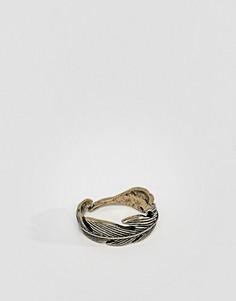 Кольцо с пером Icon Brand - Золотой