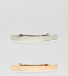 2 кованые заколки для волос ASOS - Мульти