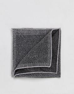 Серебристый платок для пиджака ASOS - Серебряный