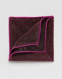Блестящий розовый платок для нагрудного кармана ASOS - Розовый