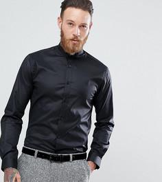 Приталенная рубашка с воротником на пуговице Heart & Dagger - Белый