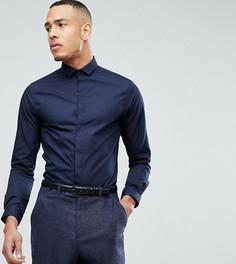 Облегающая рубашка Heart & Dagger TALL - Черный