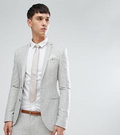Приталенный пиджак Noak TALL - Серый