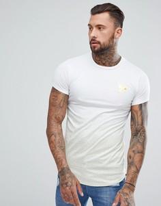Белая обтягивающая футболка в золотистую крапинку Good For Nothing - Белый