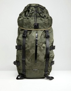 Большой рюкзак с камуфляжным принтом AAPE By A Bathing Ape - Зеленый