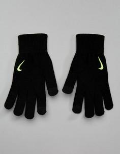 Черные вязаные перчатки Nike Training Tech Grip WG.I5-007E - Черный