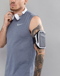 Черный браслет на предплечье с карманом Nike Running Flash RN.72-037 - Черный