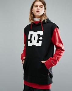 Красный худи с двухслойной основной частью DC Shoes Snow Dryden - Красный