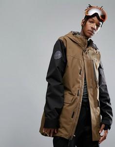 Лыжная куртка с рукавами контрастного цвета Armada Spearhead - Зеленый