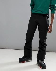 Черные эластичные горнолыжные брюки узкого кроя Armada Atmore - Черный