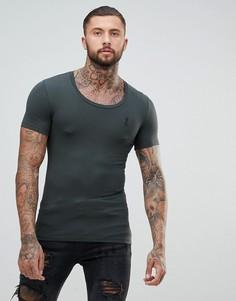 Облегающая футболка Religion - Серый
