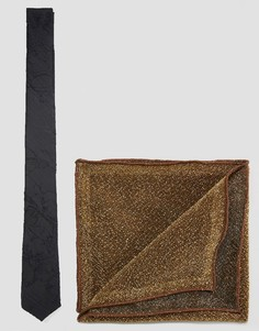 Галстук и платок для пиджака ASOS - Мульти
