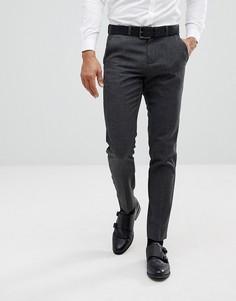 Темно-серые зауженные брюки Burton Menswear - Серый