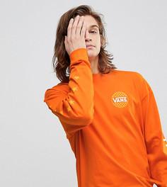 Оранжевый оверсайз-лонгслив Vans эксклюзивно для ASOS - Оранжевый