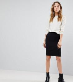Эластичная юбка Y.A.S Tall Sesilie - Черный