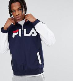 Горнолыжная куртка с большим логотипом Fila Black Line - Темно-синий