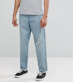 Голубые джинсы в винтажном стиле ASOS TALL - Синий