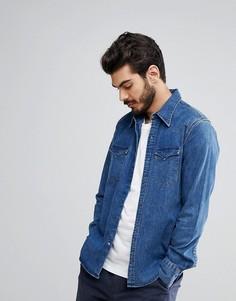 Рубашка в стиле вестерн Levis Barstow Brooklyn - Синий Levis®