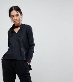 Рубашка с асимметричным краем Noisy May - Черный