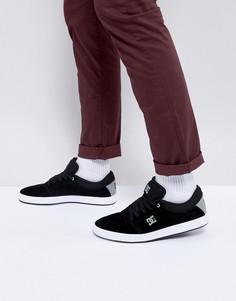 Кроссовки из искусственной замши DC Shoes Crisis - Черный