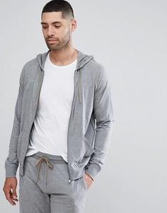Серый меланжевый худи для дома Paul Smith - Серый