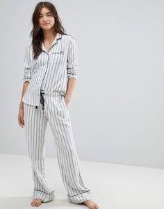Пижамные штаны в полоску Abercrombie & Fitch - Мульти