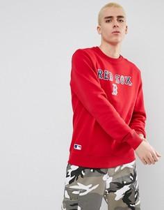 Свитшот New Era Boston Red Sox - Красный