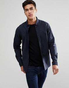 Темно-синяя рубашка Blend - Темно-синий